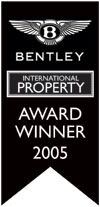 Winner of the Bentley International Property Award 2005